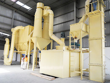 Superfine Slag Powder Making Plant